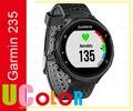 Original nova Garmin Forerunner 235 GPS de relógio de pulso HRM cinza / preto ( 1 x de banda )