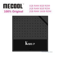 Genuine Mecool KM8 P Smart TV Box Android 6 0 TV Box Amlogic S912 Octa