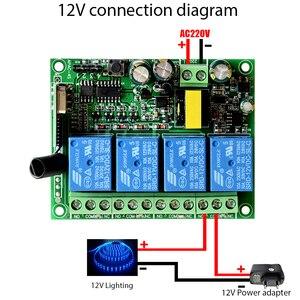 Image 5 - ALARMEST akıllı ev 4CH için röle çıkışı kontrol küçük ev aletleri için G90B wifi alarm ev güvenlik sistemleri