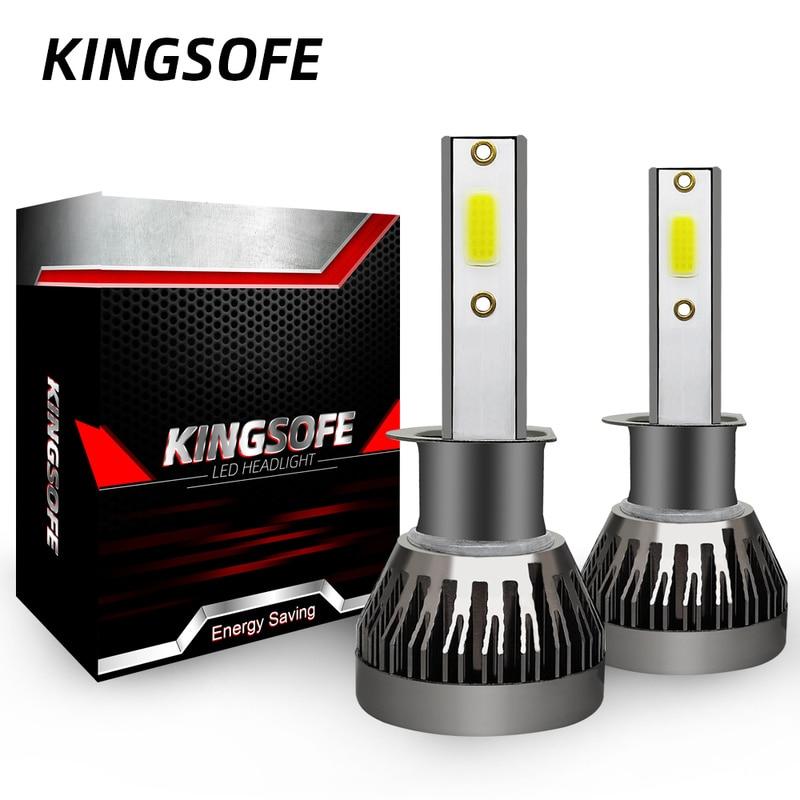 Kingsofe 2x Led H4 H7 H1 H11 9006 9005 9012 Car Led Headlight 360 Degree Lighting Headlamp Conversion Kit COB Bulb 90W 12000LM