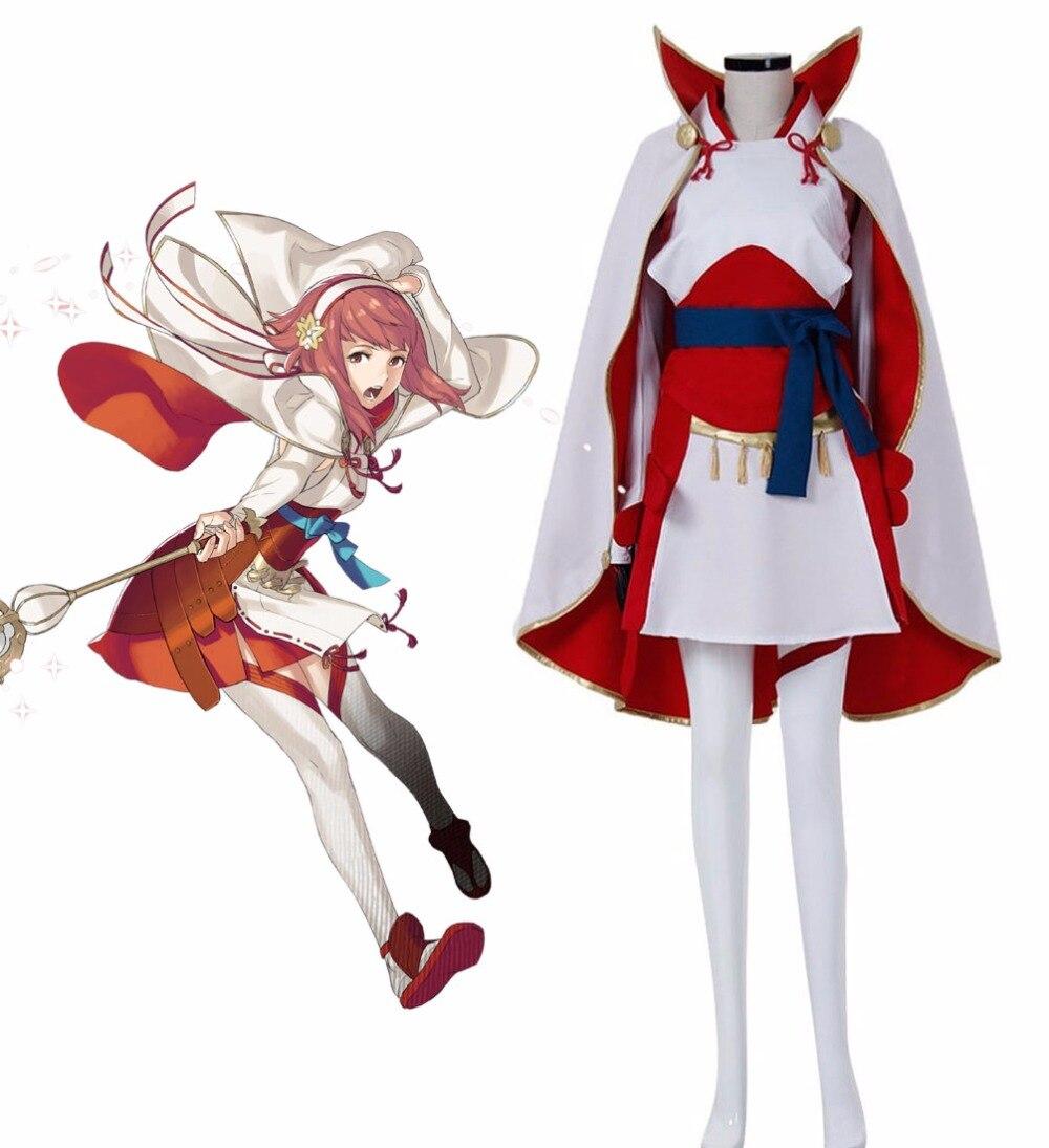 Огненная эмблема фатс Сакура косплей костюм на заказ