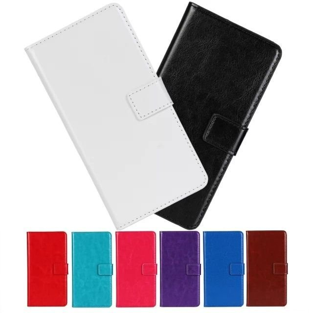 Leather Folio Wallet Flip Case Cove For Samsung Galaxy MEGA 5.8 GT-i9152 i9158e back cover cases battery protector