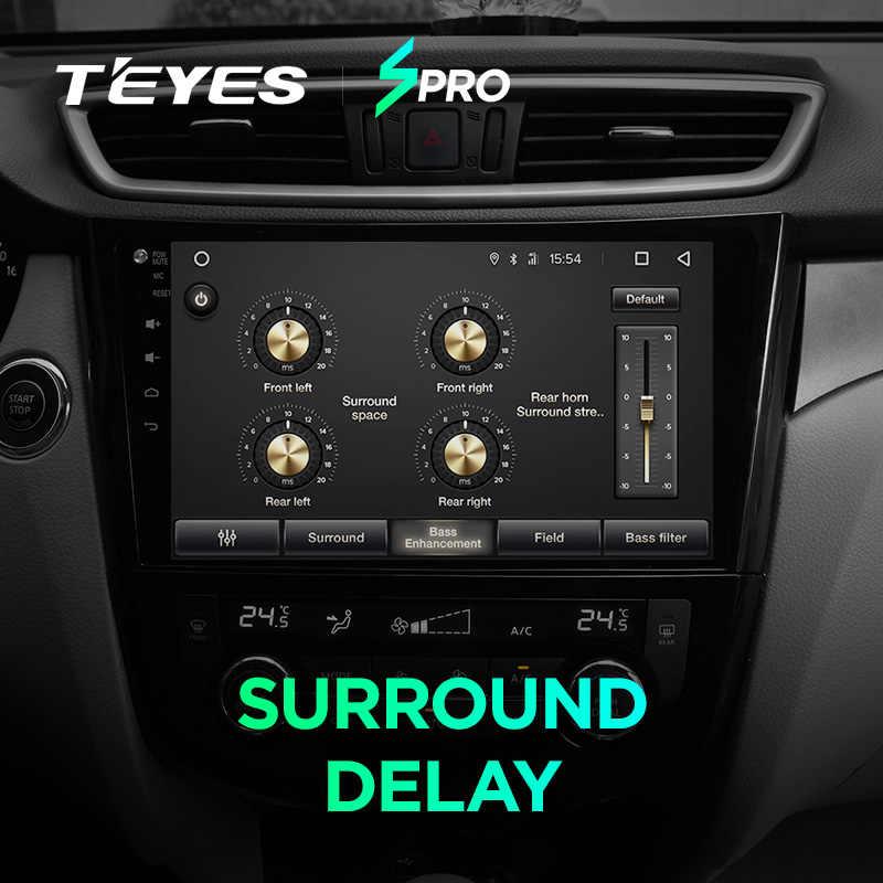 TEYES SPRO カーラジオマルチメディア Dvd ビデオプレーヤーナビゲーション GPS アンドロイド 8.1 4 グラム日産エクストレイル XTrail t32 キャシュカイ J11 T31 J10