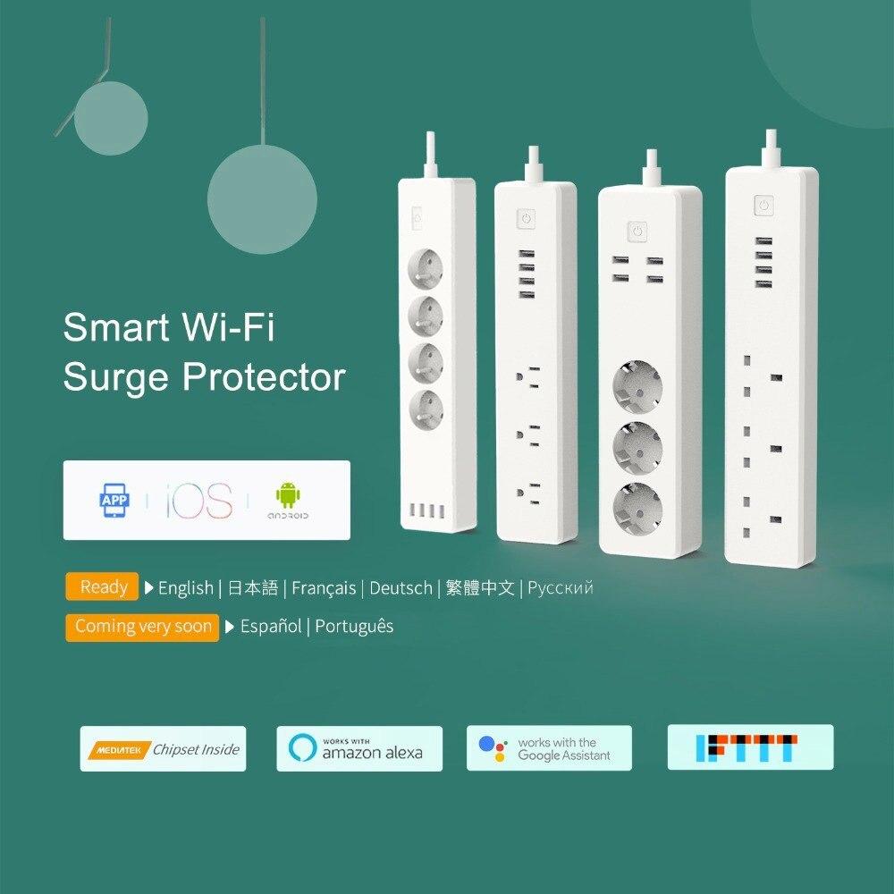 Alexa Google Home & IFTTT Supported meross Smart Power Strip