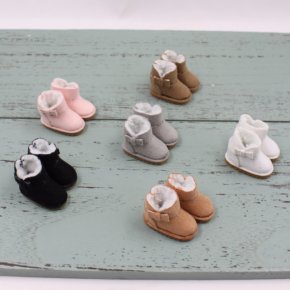 Neo Blythe Doll Fur Fluffy Boots 1