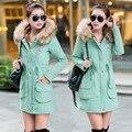 Women Winter Coat Lamb's Wool Winter Jacket Women Hooded Fur Collar Cotton Wadded Long Jacket Parka Casacos Plus Size 3XL C2468