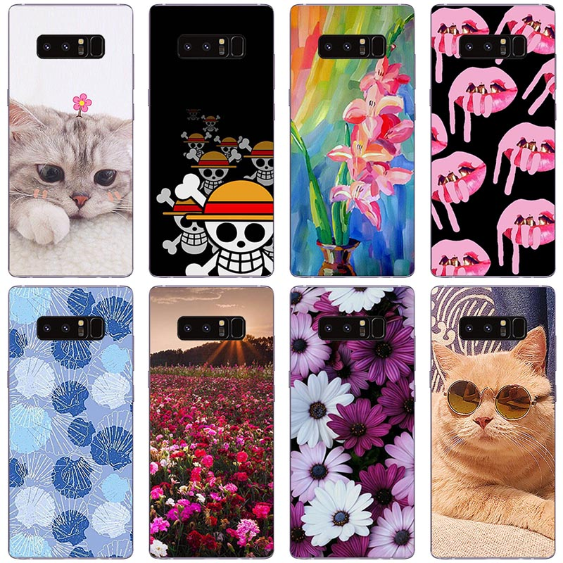 Phone Case for Samsung Galaxy Note 8 Case Silicon Cover for Samsung Galaxy Note 8 N950F Cover Cases for Samsung Galaxy Note8 Bag