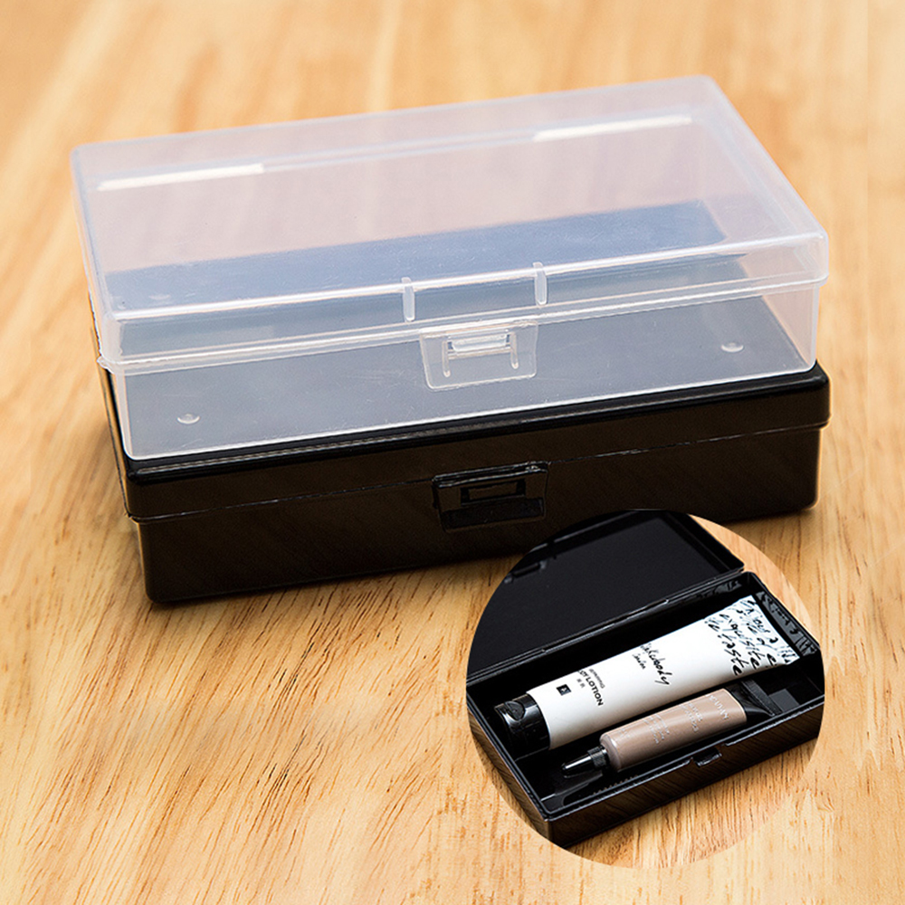 Plastic-Box Jewelry Container Transparent-Case Fishing-Gear-Parts Rectangular Box-Component