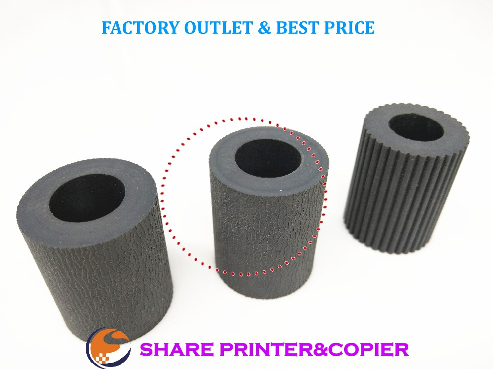 Paper Pickup Feed Separation Roller tire rubber 2AR07220 2AR07230 2AR07240 for Kyocera KM1620 1650 2020 2050 3035 3040 4030 5035 2ar07220 2ar07230 2ar07240 paper pickup feed separation roller tire rubber for kyocera km1620 1650 2020 2050 3035 3040 4030 5050