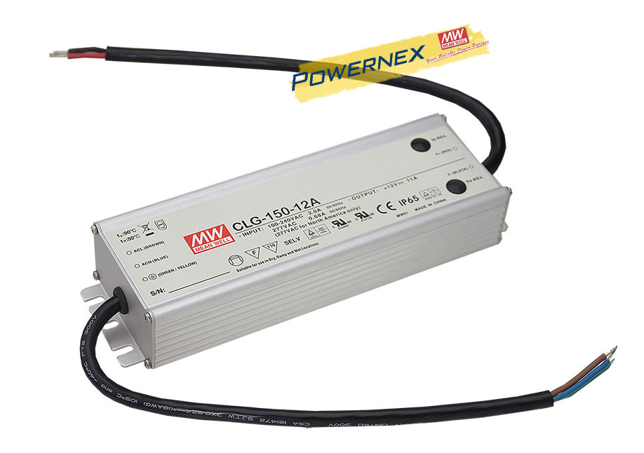[PowerNex] MEAN WELL original CLG-150-12A 12V 11A meanwell CLG-150 12V 133W Single Output LED Switching Power Supply рфс p710306 133w