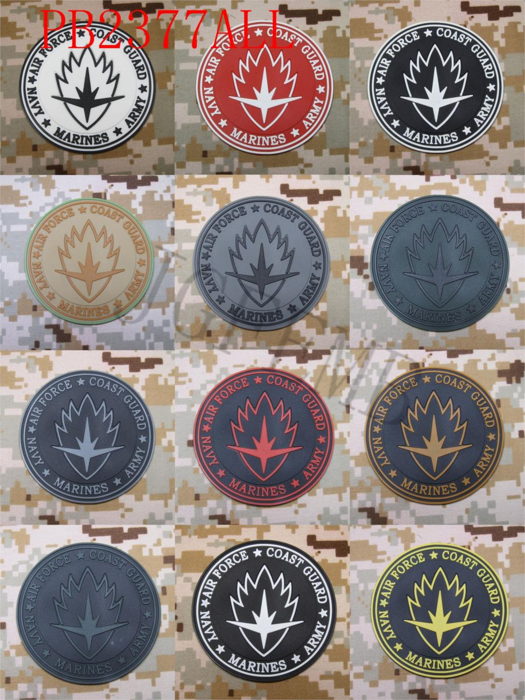 Guardians of the Galaxy Tactical morale Military 3D PVC patch Style4