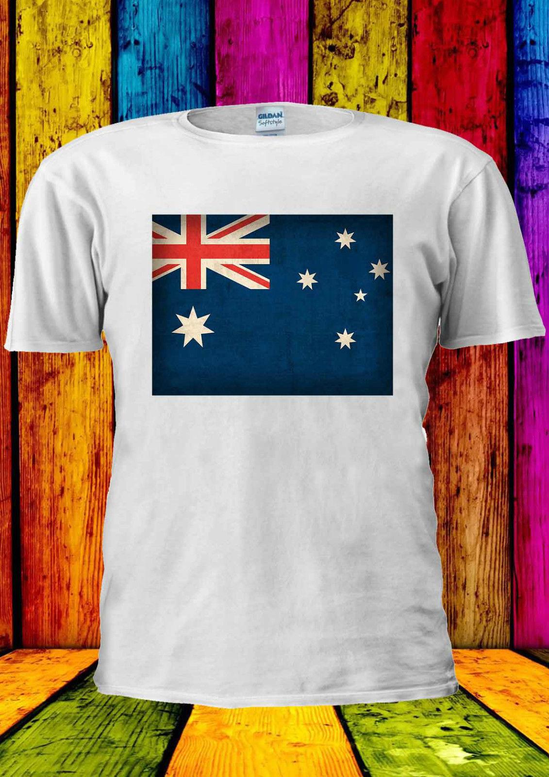 Shirt design online australia - Gildan Australian Flag Australia Sydney T Shirt 1431 Men T Shirt China Mainland
