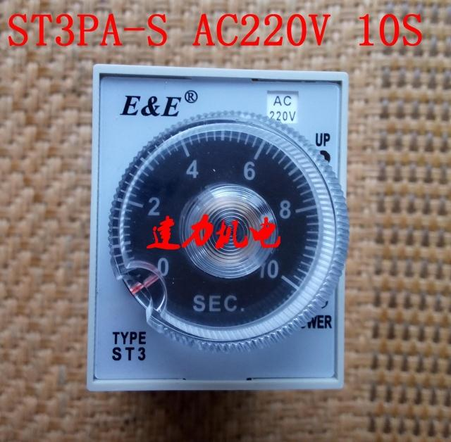 Wuxi radio factory time relay ST3PA-S AC220V 10S