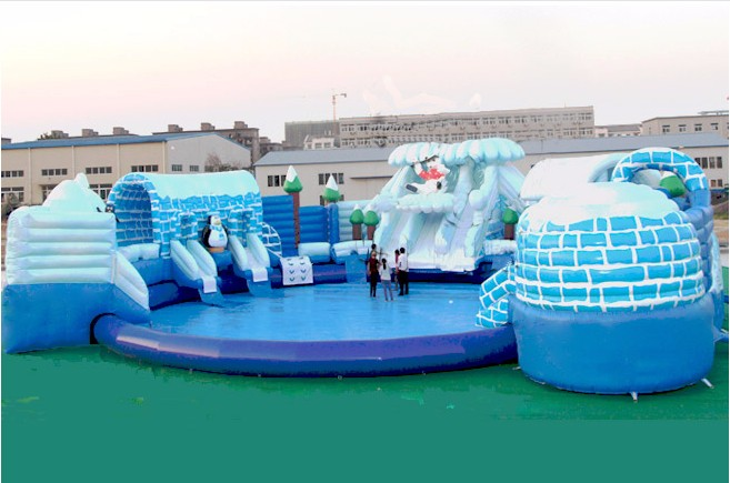 Factory Price Of PVC Toys Inflatable Pool Portable Swimming For Home Use Or Outdoor Ground In Bouncers From Hobbies On