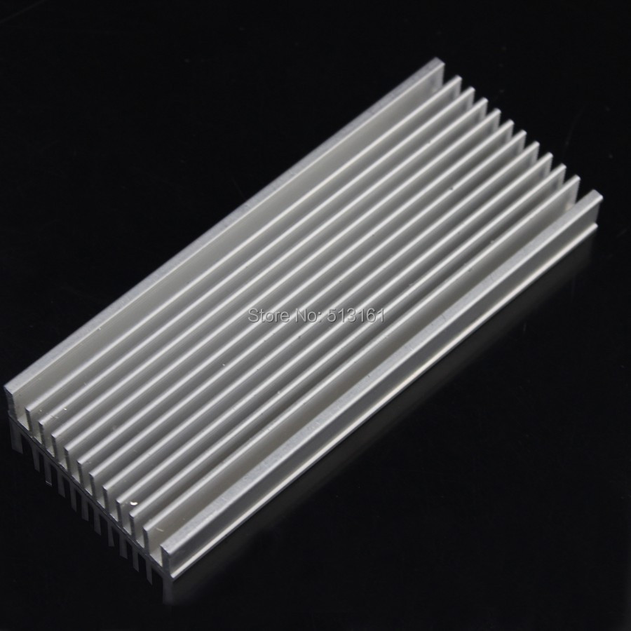 1 Piece Heat sink 120mm x 50mm x 12mm Aluminum Heatsink Cooling Radiator Electronic CPU Cooler synthetic graphite cooling film paste 300mm 300mm 0 025mm high thermal conductivity heat sink flat cpu phone led memory router