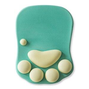 Image 5 - 3D かわいいマウスパッドアニメソフト猫足マウスパッドリストレストサポート快適シリコン低反発マウスパッドマット