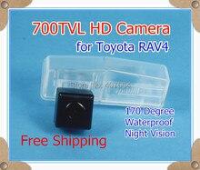 700TVL! Автомобильная камера заднего вида Обратный Резервное копирование Парковочная камера для Toyota RAV4 2014