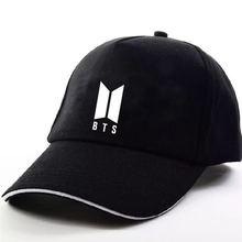 Women Men Snapback Hats BTS print Fashion Cricket Cap Hats Adjustable Baseball Cap Bulletproof Young Age