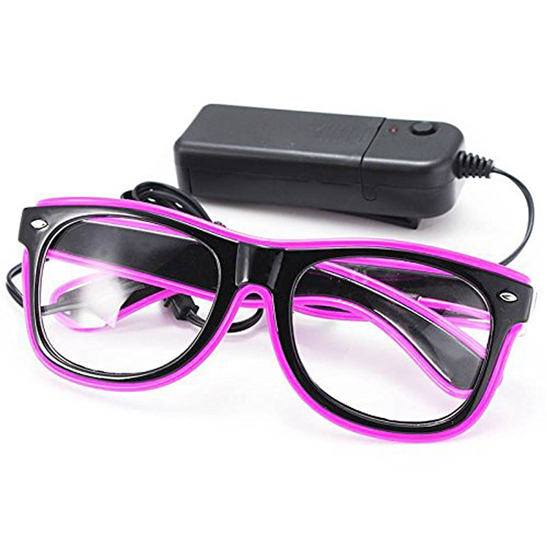LED Light Glasses Party Toy Glasses Purple