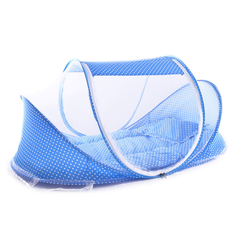 Portable Soft Baby Crib 0-3 Years Bedding Mosquito Net Foldable Bed Cotton Sleep Travel Beds Cribs Pillow Mat Setat Set 998