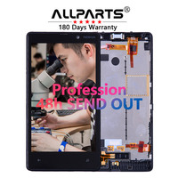100 Warranty TFT 800x480 Display For Nokia Lumia 820 LCD Touch Screen With Frame Assembly Parts