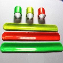4 светоотражающие повязки на лодыжку, видимый ремень для спорта и велоспорта, ремешок для браслетов, повязки на лодыжку