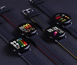Image 5 - Senbono IP68 Waterdicht Smart Horloge Ips Kleur Screen Hartslagmeter Fitness Tracker Sport Smartwatch Pk S08 S18