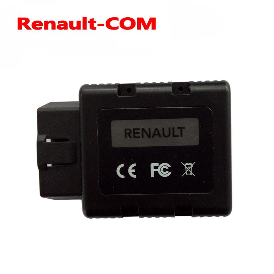 Цена за Новинка 2017 года Renault-com bluetooth инструмент диагностики для Renault COM диагностики и программирования инструмент Замена может клип для Renault