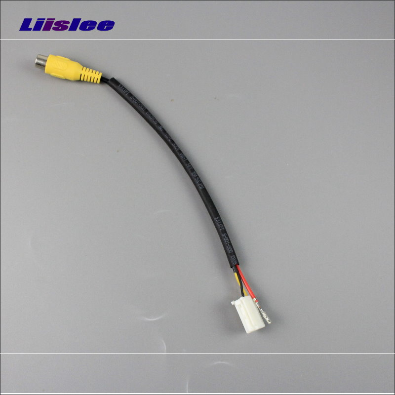 Liislee Original Video Input RCA Adapter Wire For Mazda CX-7 CX7 2007~2013 Rear Back Camera Switch Connector Adapter Cable