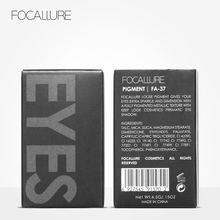 FOCALLURE 18 Colors Glitter Eye Shadow