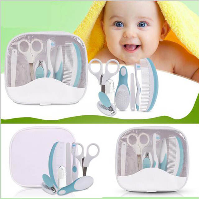 45921ac2d Online Shop 7pcs Newborn Baby Grooming Health Care Manicure Set Baby ...