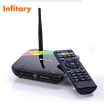 CS968 android tv box skype rockchip 3188 Quad Core 2 1GBRAM 8 GB HDMI AV USB RJ45 OTG 2.0MP Cámara web Micrófono para Inteligentes TV