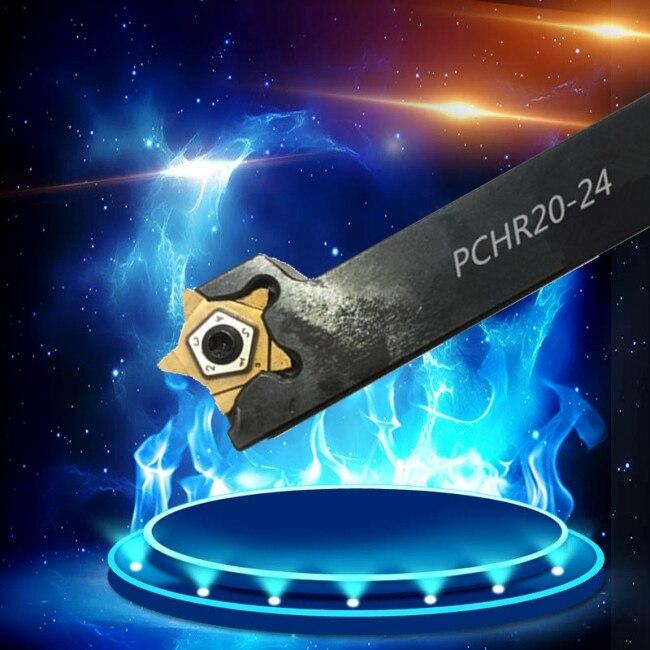 Lâmina de faca PCHR20-24 para ISCAR PENTA24 torneamento externo, entalho, Torno, ferramenta de torneamento CNC, mecânica, corte, especial 1 pcs