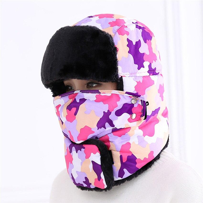 Térmica Cap Ouvido Proteger Mulheres Dos Homens