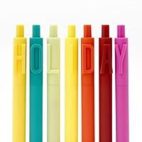 KACO 0.5 mm Gel Pen Alpha 36pcs/Set Creative Stationery Student Pen