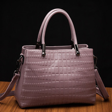 2016 Fashion bag crocodile pattern Women messenger bags handbags female shoulder high quality fashion Messenger handbag