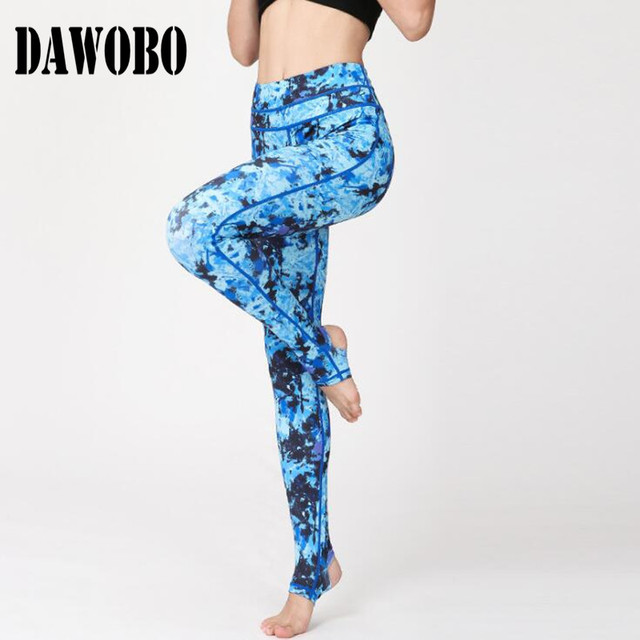 1264a394cd New digital printing yoga pants women bohemia colorful workout gym leggings  Cute Stretch fitness tights sports clothing