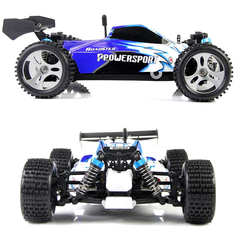 RC Car 2.4G 1/18 Scale Remote Control Model 4WD Off-Road RC Buggy For Wltoys A959 Vehicle Toys Children Birthday Gifts M mini rc car 1 28 2 4g off road remote control frequencies toy for wltoys k989 racing cars kid children gifts fj88