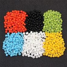 LINSOIR 500 pz/lotto 4mm Miyuki di Cristallo Perline di Vetro Allentati Del Distanziatore Hama Perline Ceche Per Gioielli FAI DA TE Che Fanno Perles berloque