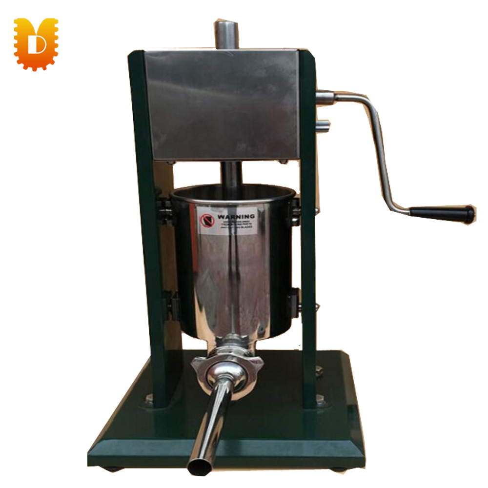 Machine verticale de remplisseur de saucisse d'acier inoxydable actionnée à la main de UD-500 meilleure qualité/fabricant de saucisse