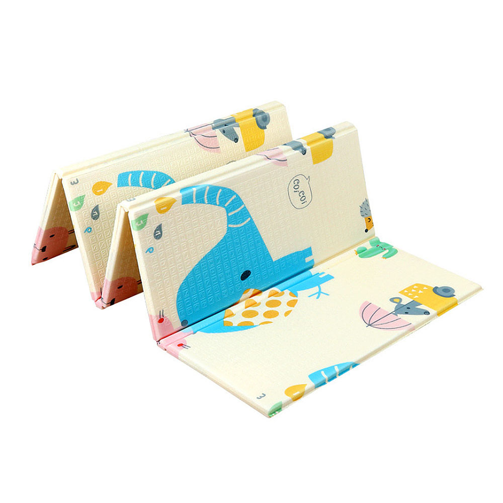 200*180*1 cm Portable pliable bébé escalade Pad bébé jouer tapis mousse Pad XPE environnement insipide salon jeu couverture - 6