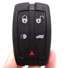 433MHZ 46 Electronic Chip Keyless Entry Smart Remote Key Fob Case Smart Card 4+1 Buttons for Land Range Freelander 2