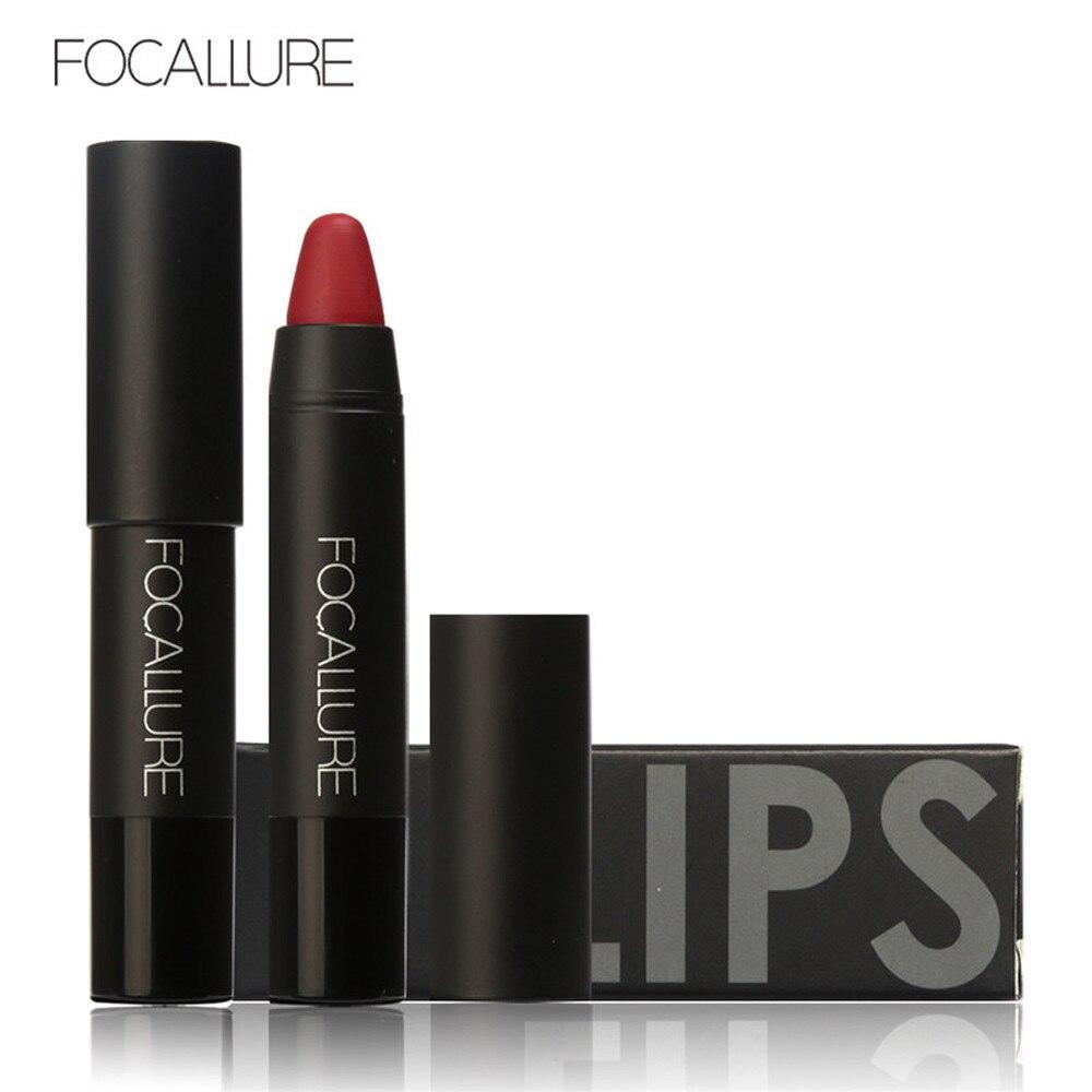 FOCALLURE Matte läppstift Lips Makeup Kosmetika Vattentät Mate Lip Gloss Rouge en Levre Labial 2017 o1