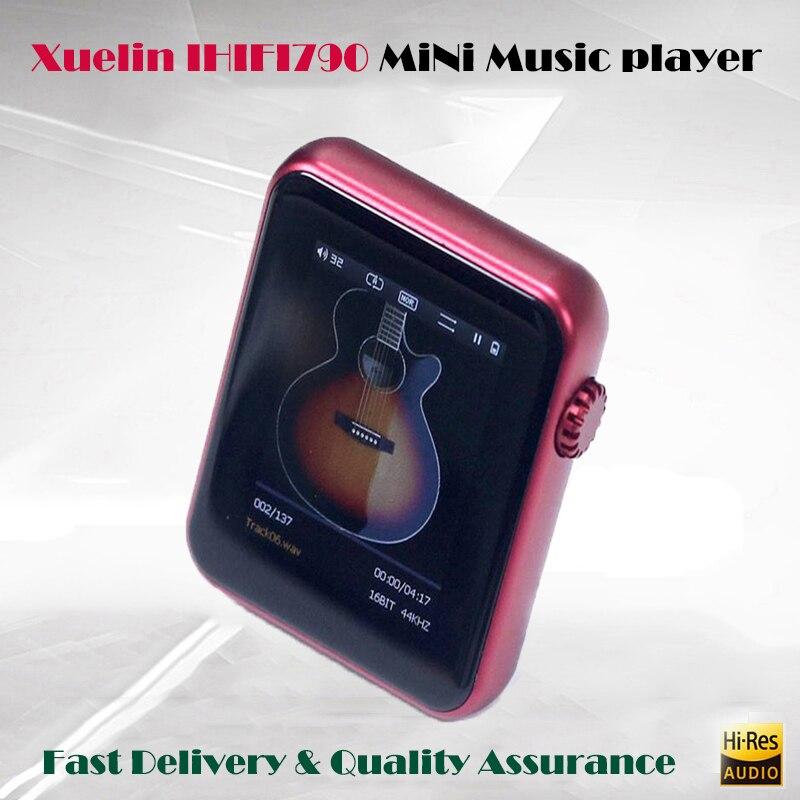 Xuelin IHIFI790 player mp3 HD DSD AK4490 portable music player hi fi bluetooth mini mp3 player hi-res sport player 32GB TF card стоимость