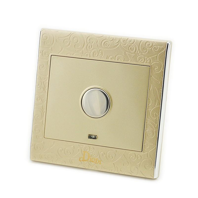 Free shipping MK-WS05029 safety design smart touch delay light wall switch,automatic turn off light sensor switch for Corridor i composite structures design safety and innovation