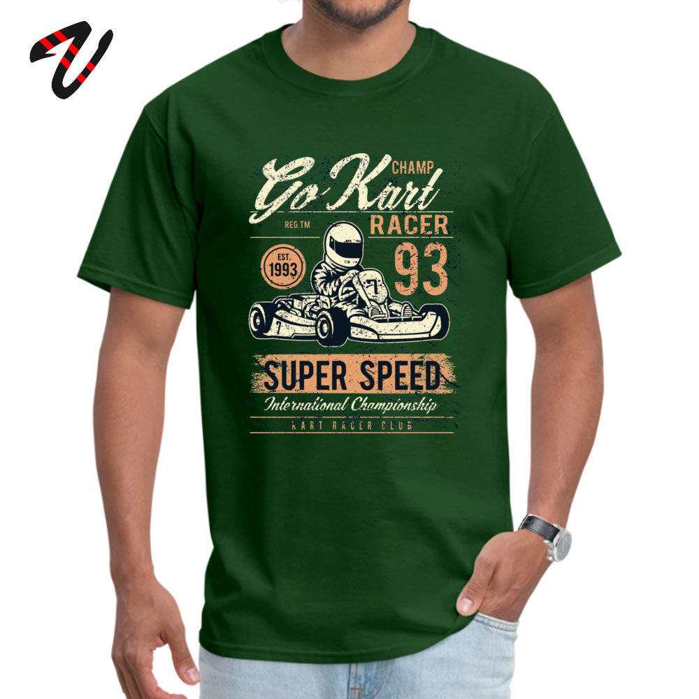 All Cotton Men's Short Lil Xan Go Kart Karting Lover T Shirt Casual Tops & Tees Funky Simple Job Crewneck Tee Shirt