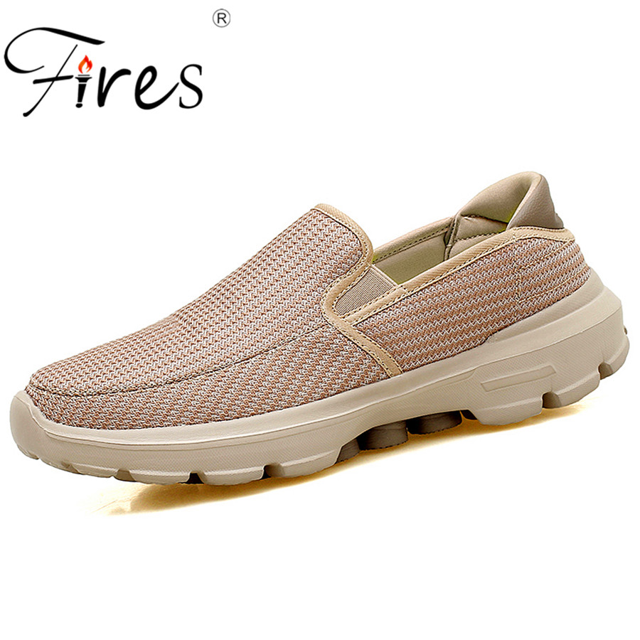 Fires Hot Sale Couple sports shoes 2018 Summer New design outdoor Sneakers Men running shoes and Breathable Man Walking shoes