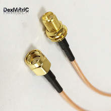 WIFI router extension RP SMA Male Switch RP-SMA Female Pigtail Cable RG316 Wholesale Fast Ship 30cm(China)