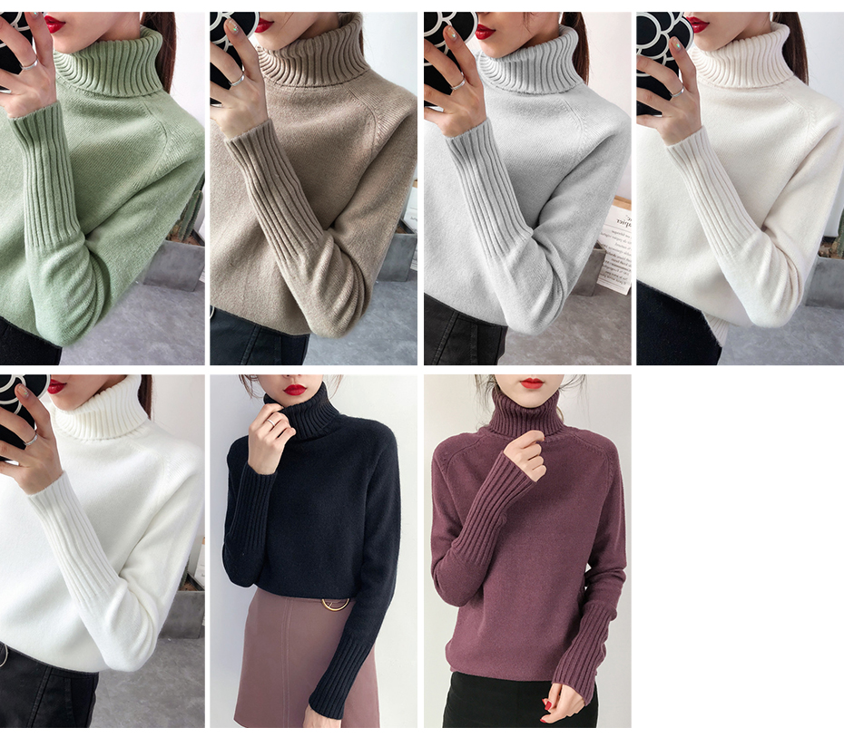 Surmiitro Sweater Female 19 Autumn Winter Cashmere Knitted Women Sweater And Pullover Female Tricot Jersey Jumper Pull Femme 5
