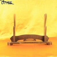 Removable 2 Layer Wood Japanese Katana Wakizashi Tanto Sword Holder Stand Display Sword Decoration Supplies